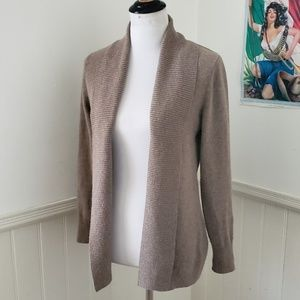 Brown / Tan LL Bean Cashmere Cardigan